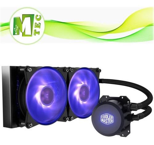 mtec cooler master master liquid ml240l sistema liquido cpu