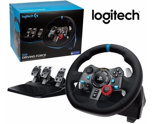 mtec logitech g29  driving force ps4 ps3 volante + pedales