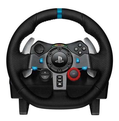 mtec logitech g29 volante + pedales + palanca pc ps4 ps3