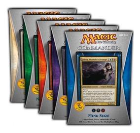 Mtg - Commander 2013 - Set Com Os 5 Decks