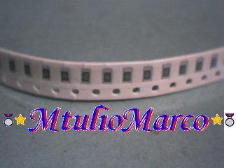 mtuliomarco - resistor smd - 100 peças - 4k7 ohms 5%