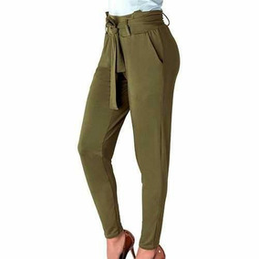 Mtx Dama Pantalon Vestir Con Amarre En Cintura Ch Al Xg Pv19