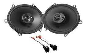 """Fits 1999-2000 Ford Mustang Front Doors 6/"""" x 8/"""" RPX Speakers by Skar Audio"""