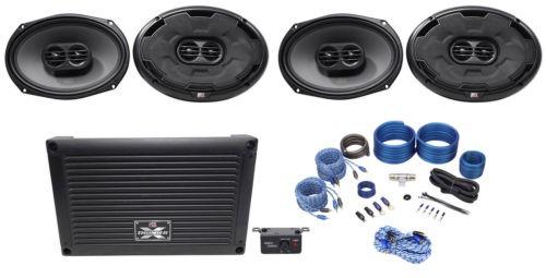 Diez Calibre Sub oradores AMP cableado instalación Set Kit de cables de alimentación de alta potencia