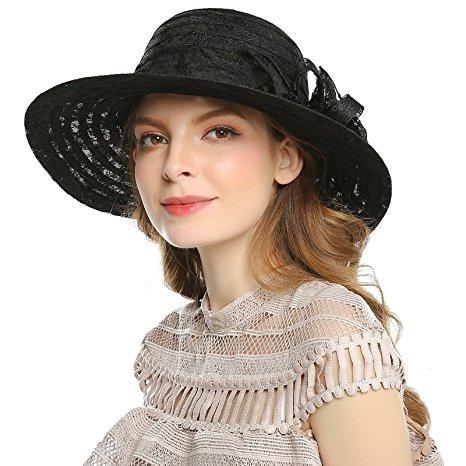 Muchachas De Las Mujeres Del Verano Sombreros De Sun Cap V