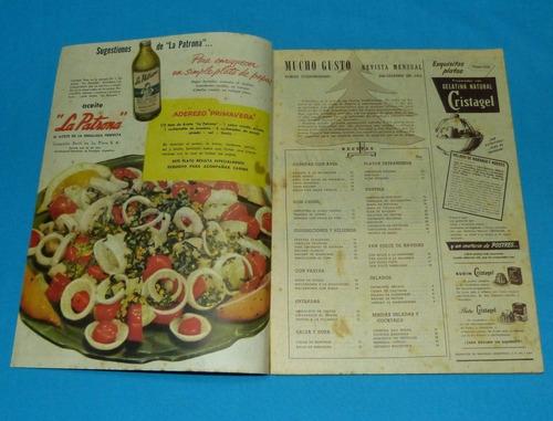 mucho gusto 1951 año nuevo navidad postres recetas cocina