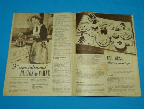 mucho gusto 1951 recetas cocina helados ensaladas tartaletas