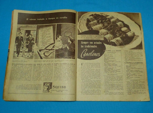 mucho gusto 1952 recetas cocina bizcochos pescado canelones