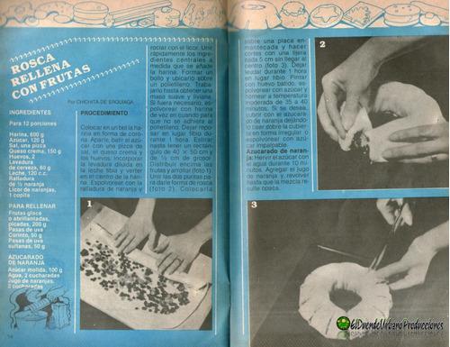 mucho gusto | confiteria casera | #262 | 1982 | revista