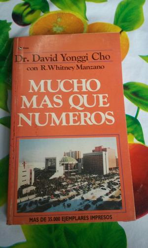 mucho mas que numeros. david yonggi cho. 0 - 8297 - 0531 - 7
