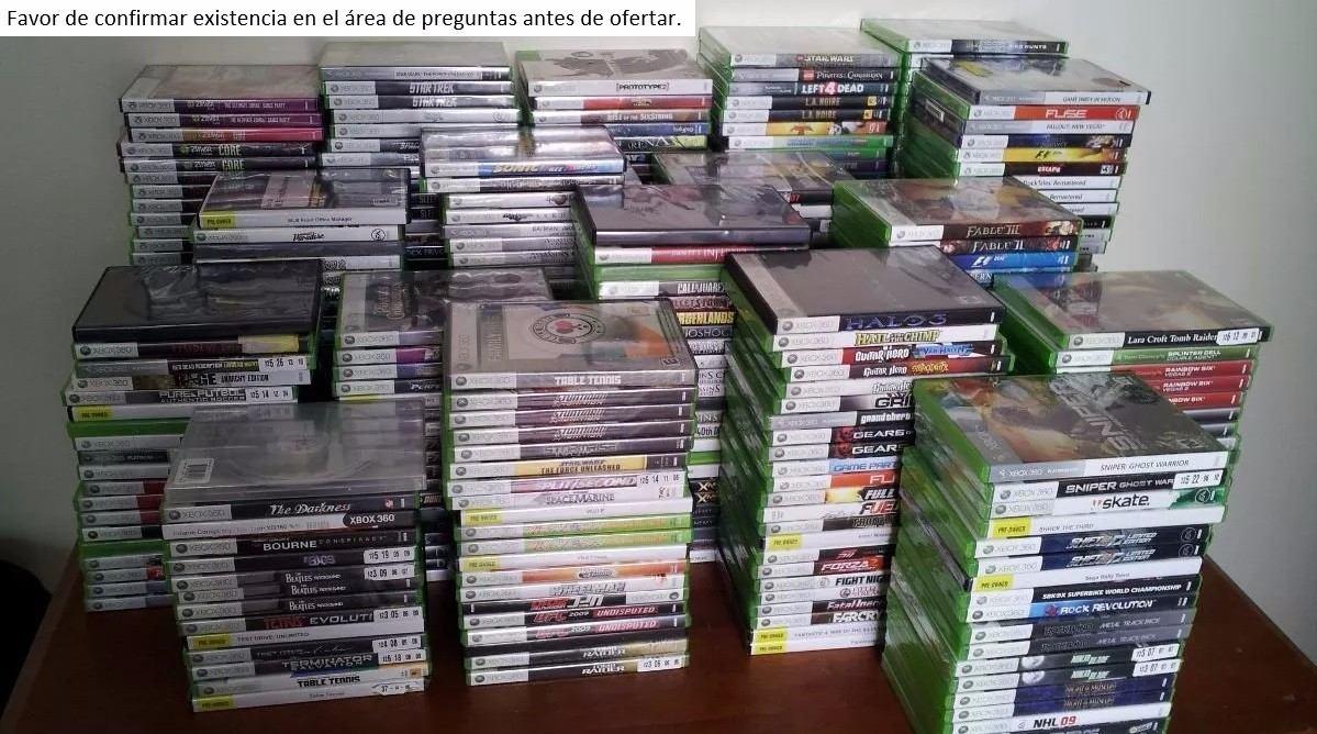 Muchos Juegos De Xbox 360 Para Escoger 235 00 En Mercado Libre
