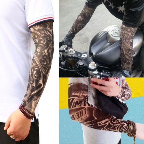 Muchos Tatuajes Brazo Mangas Tapa De Cuerpo 10pcs Tat