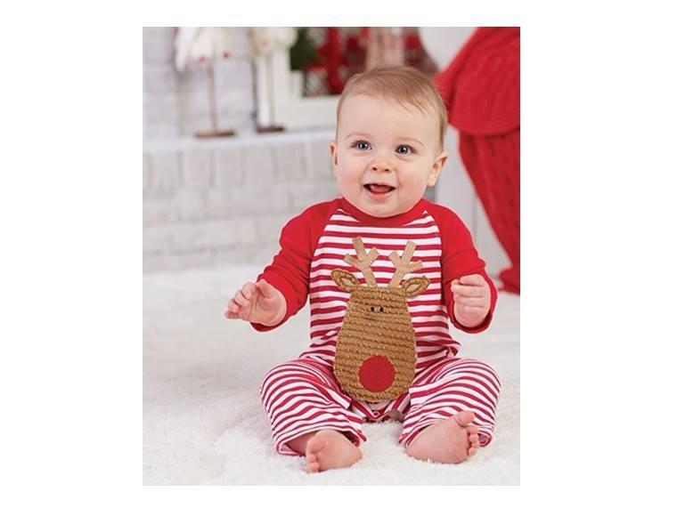 Mud Pie Enterizo Bebe 9 Meses Navidad 100 Original Y Nuevo S 98