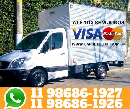 mudanças e carretos todo brasil em até 10 x cartão s/juros