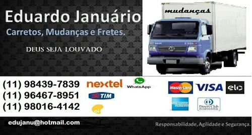 mudanças e fretes de sp para todo brasil.
