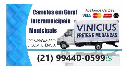 mudanças é fretes (vinicius) 994400599 zap