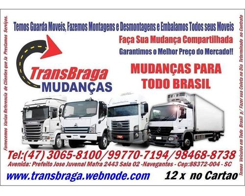 mudanças para todo brasil