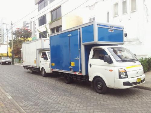 mudanza económicas lima perú transporte de carga .