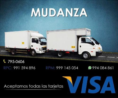 mudanza en lima los olivos tarjeta visa 991594896  994084861