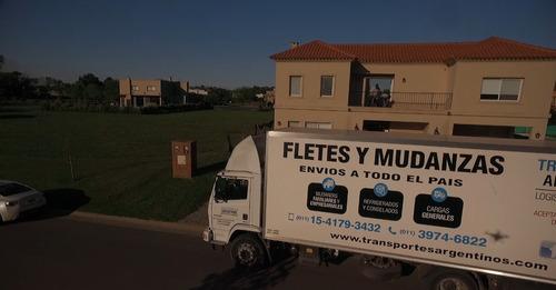 mudanza flete camion transporte palermo nuñez belgrano