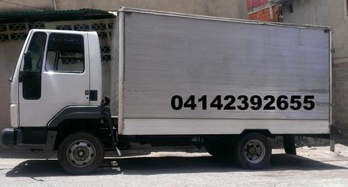 mudanza, viajes camiones 750 maracay la victoria cagua