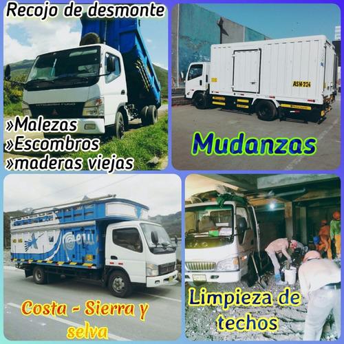 mudanza y taxi carga & eliminación desmonte las 24h del dia