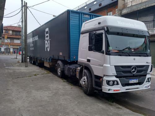 mudanzas camiones  semirremolque playo sider carretones