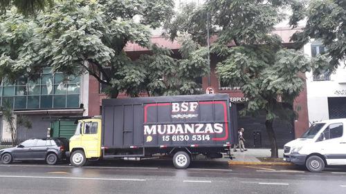 mudanzas economicas camion mudancero canastos embalajes peon