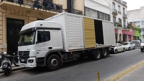 mudanzas económicas y fletes en capital camiones camionetas