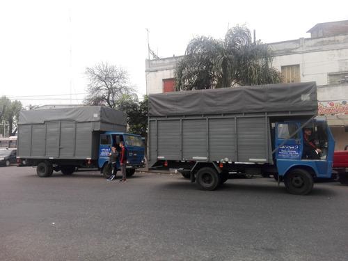 mudanzas fletes económicas capital interior camiones
