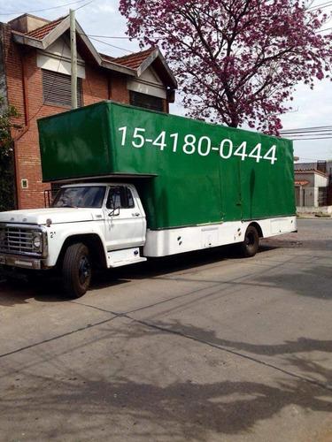mudanzas fletes económicos camión zona norte  caba interior