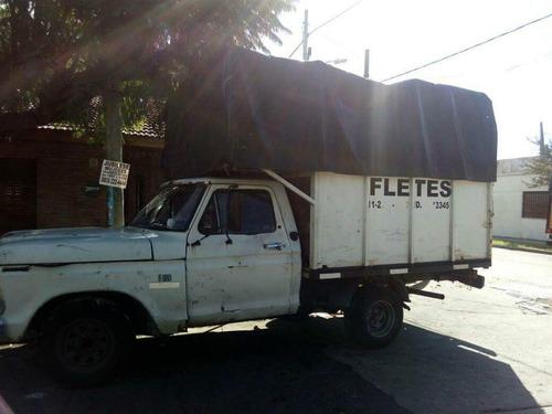 mudanzas fletes servicios transporte
