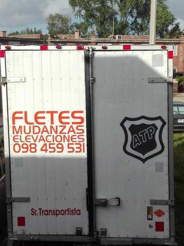 mudanzas ,fletes traslados transporte servicio atp.