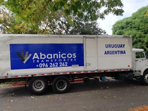 mudanzas internacionales argentina brasil, etc (096 262 262)