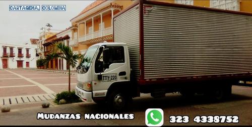 mudanzas  nacional, internacional ,exportación e importacion