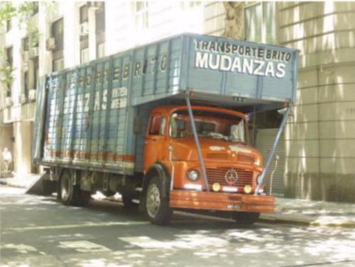 mudanzas, transportes y fletes con camion