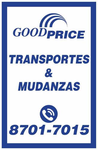 mudanzas transportes y fletes. económicos  8701-7015