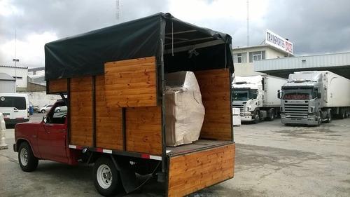 mudanzas y fletes económicos f100 canastos camión mudancero