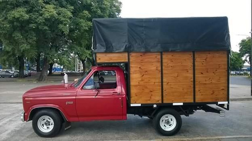 mudanzas y fletes económicos f100 capital camión mudancero