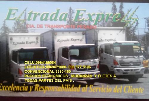 mudanzas y fletes estrada express