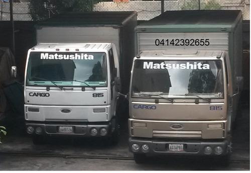 mudanzas y fletes oriente y occidente del país camiones  750