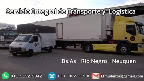 mudanzas y logistica lt - bs.as - rio negro - neuquen
