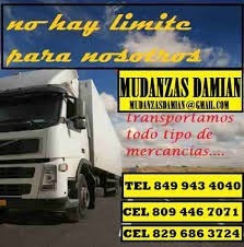 mudanzas y servicios damian 849 943 4040