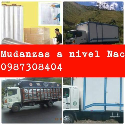 mudanzs flets encomiends pesadas liviana 0987308404 camionet