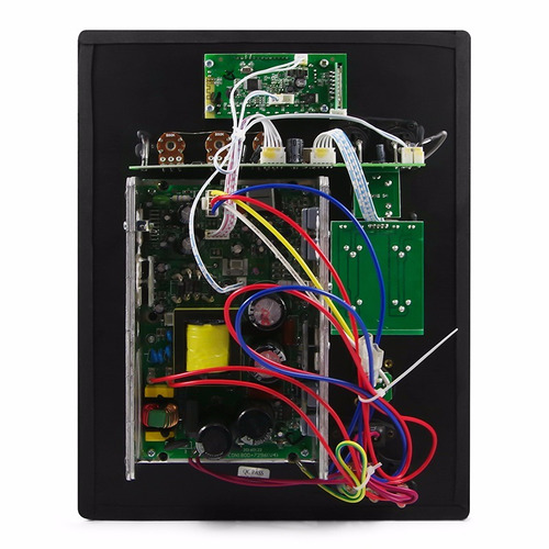 mudar placa montada amplificador digital
