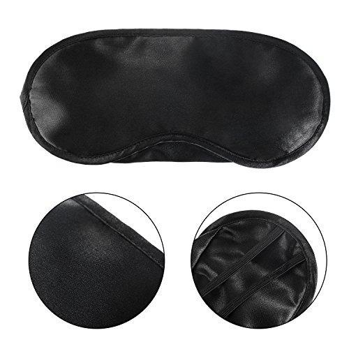 mudder 10 pack eye mask shade cover blindfold travel funda d