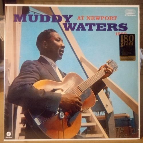muddy waters at newport 1960 nuevo cerrado disco vinilo