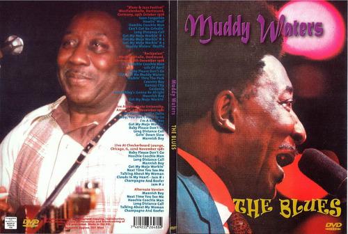 muddy waters-the blues -dvd europeo digipack nuevo cerrado