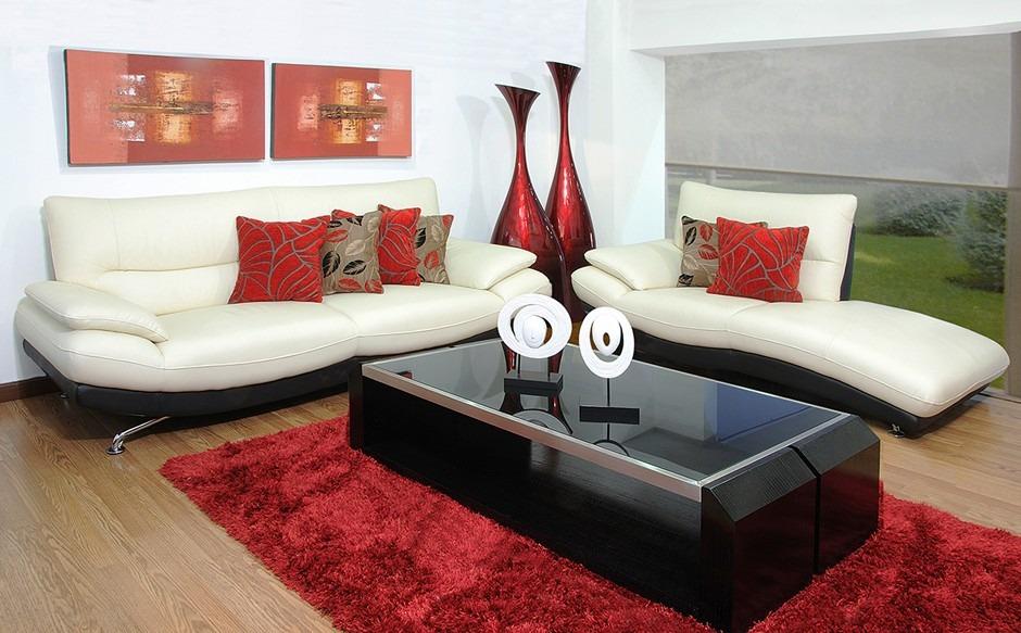 Muebes juegos de sala polonia sofas en for Juego de sala en cuero
