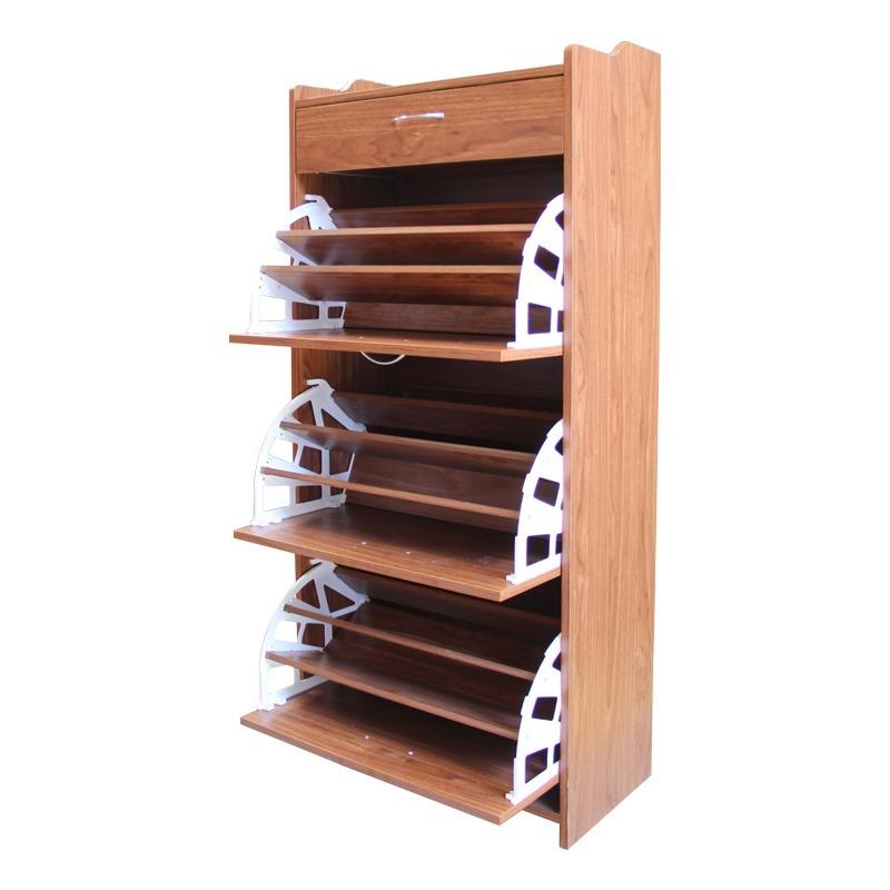 Mueble 100% Madera Organizador De Zapatos / El Container - $ 43.990 ...